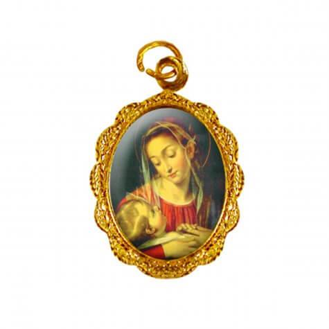 Medalha de alumínio - Nossa Senhora da Divina Providência - Mod. 1