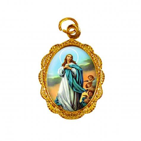 Medalha de Alumínio - Nossa Senhora da Imaculada Conceição - Mod. 01