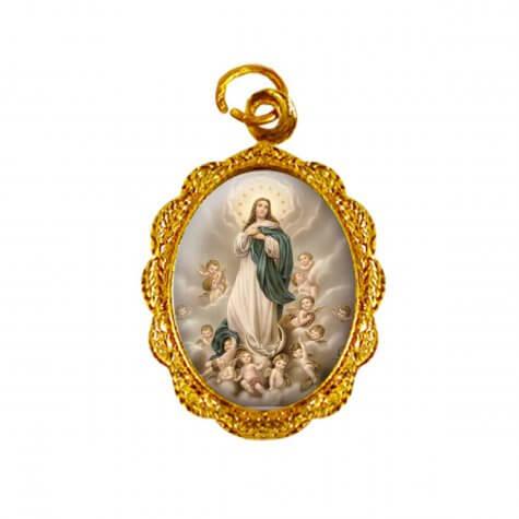 Medalha de Alumínio - Nossa Senhora da Imaculada Conceição - Mod. 02