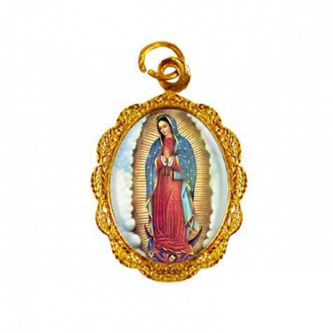 Medalha de Alumínio - Nossa Senhora da Guadalupe - 02