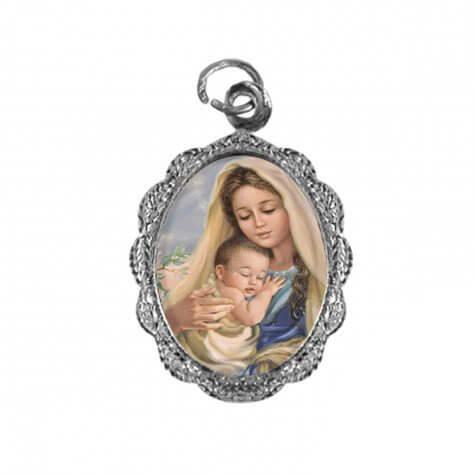 Medalha de Alumínio Nossa Senhora do Amparo