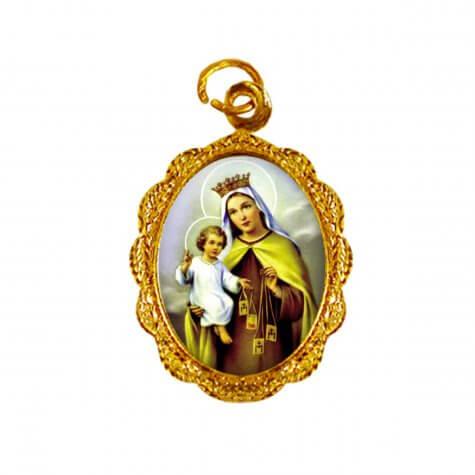 Medalha de Alumínio - Nossa Senhora do Carmo
