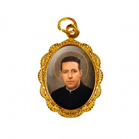 Medalha de alumínio - Padre Hurtado