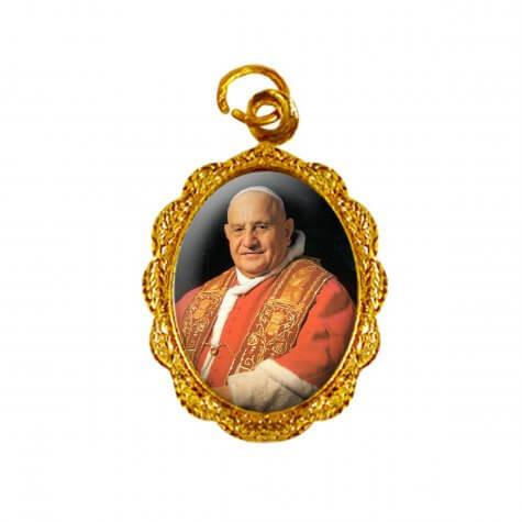 Medalha de Alumínio - Papa João XXIII - Modelo 2