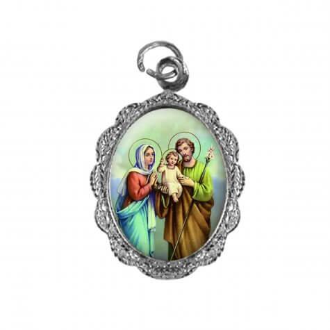 Medalha de Alumínio - Sagrada Família -  Mod. 01