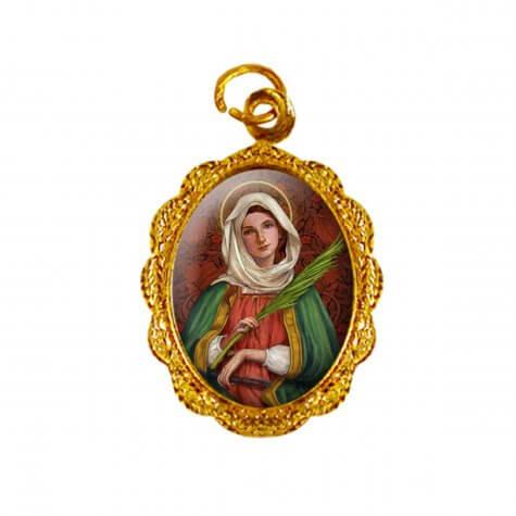 Medalha de alumínio - Santa Apolônia