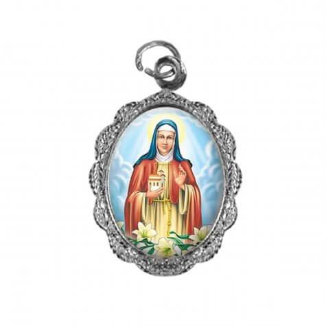 Medalha de Alumínio - Santa Edwiges - Mod. 1