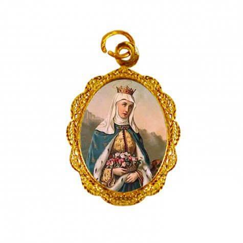 Medalha de Alumínio - Santa Isabel de Portugal