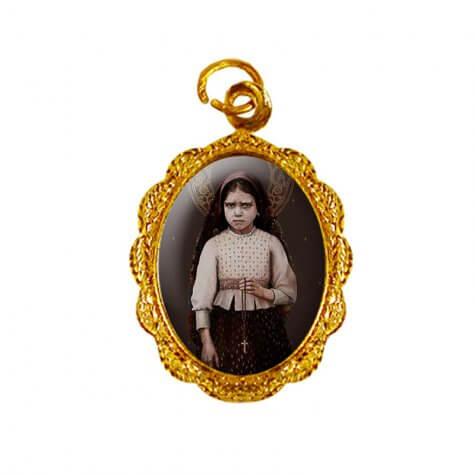 Medalha de Alumínio - Santa Jacinta Marto