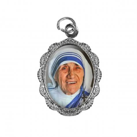 Medalha de Alumínio Santa Teresa de Calcutá