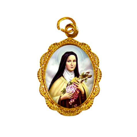 Medalha de Alumínio - Santa Terezinha