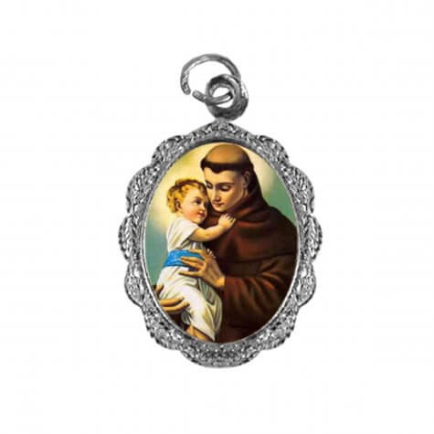 Medalha de alumínio - Santo Antonio - Mod. 03