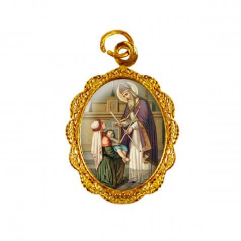 Medalha de Alumínio - São Brás