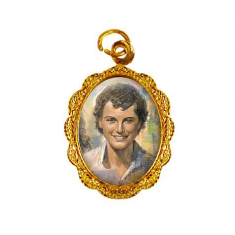 Medalha de Alumínio - São Domingos Sávio - Mod. 01