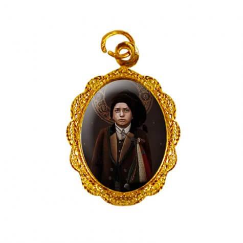 Medalha de Alumínio - São Francisco Marto