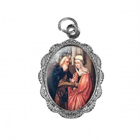 Medalha de Alumínio - São Joaquim e Santa Ana