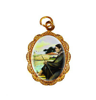 Medalha de Alumínio - São José de Anchieta - Mod. 02