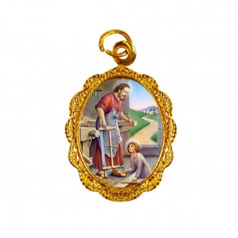 Medalha de alumínio - São José do Operário - Mod. 1