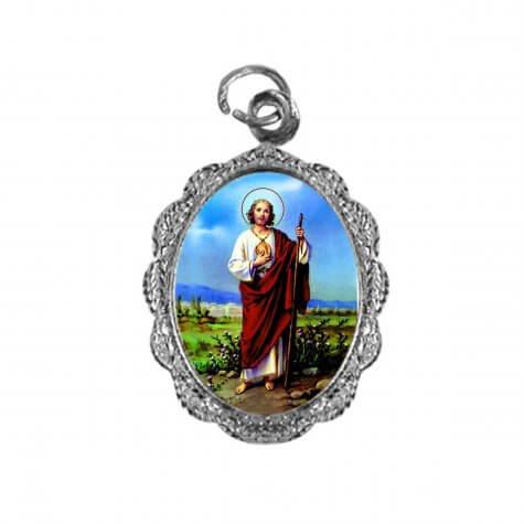 Medalha de Alumínio - São Judas Tadeu - Mod. 1