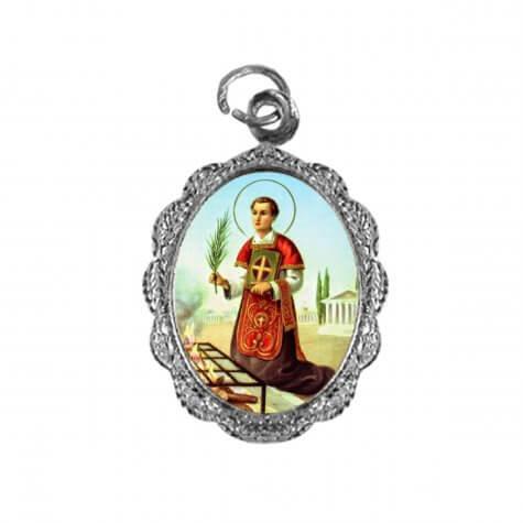 Medalha de alumínio - São Lourenço