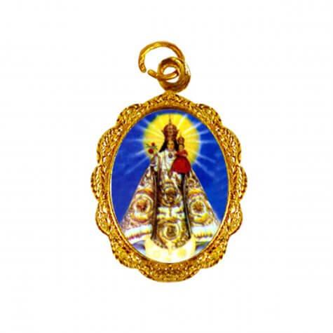 Medalha de alumínio - Virgem de Andacollo