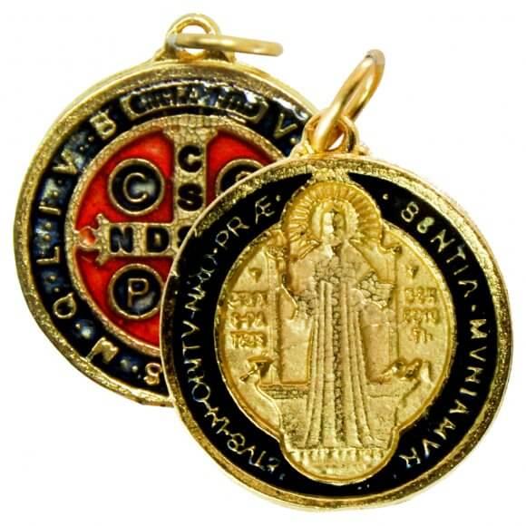Medalha de São Bento Grande - 2,5 cm