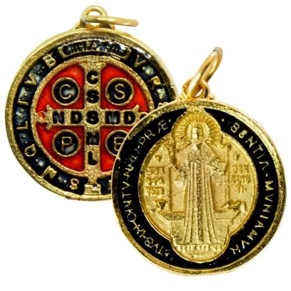 Medalha de São Bento Média - 2,0 cm