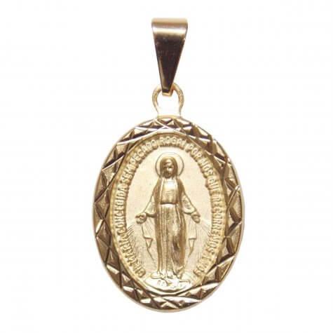 Medalha Milagrosa Folheada