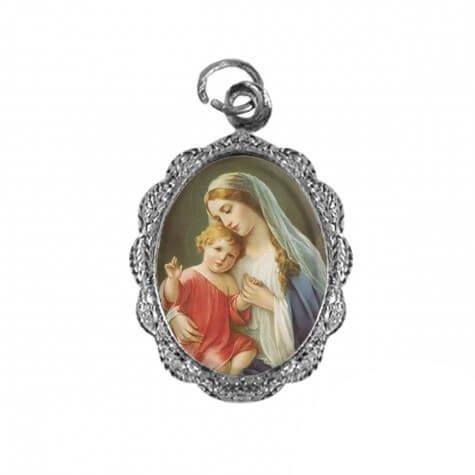 Medalha de Alumínio - Nossa Senhora do Amparo - Mod. 02