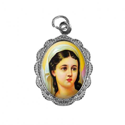 Medalha de Alumínio - Santa Luzia - Mod. 02