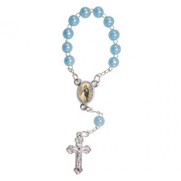 Mini Terço com Foto Nossa Senhora da Imaculada Conceição