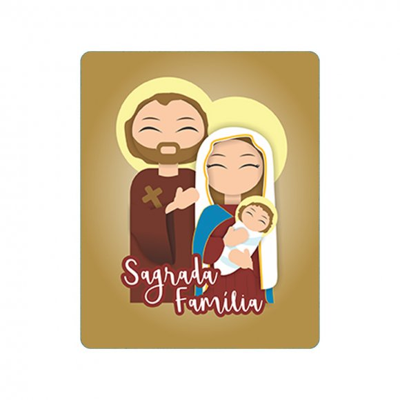 Mousepad Sagrada Família Infantil
