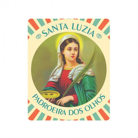 Mousepad Santa Luzia