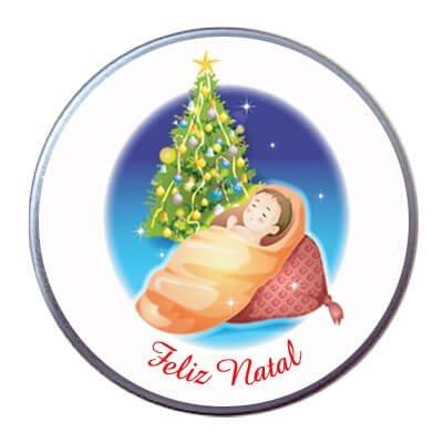 Latinha de Natal - Mod. 4