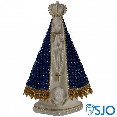Nossa Senhora Aparecida em Pérola Azul - 25 cm