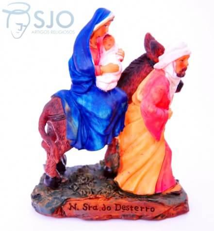 Imagem de resina Nossa Senhora do Desterro - 15 cm