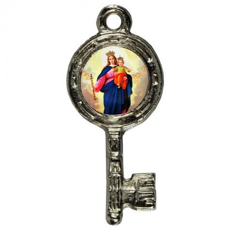 Pingente Chavinha Nossa Senhora Auxiliadora
