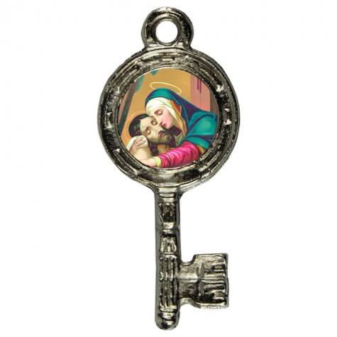 Pingente Chavinha Nossa Senhora da Piedade
