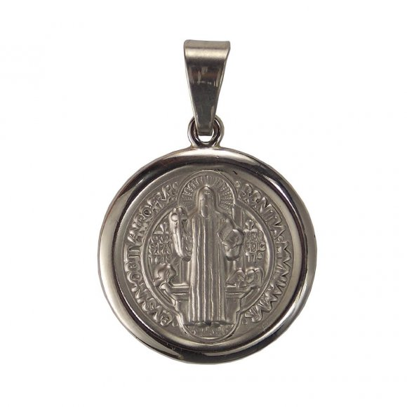Medalha Redonda de Inox de São Bento