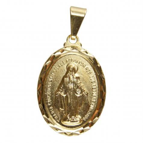 Pingente Medalha Milagrosa Grande