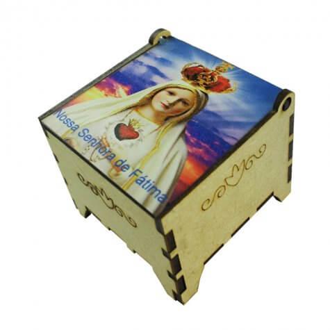 Porta Joia Madeira Nossa Senhora Fátima
