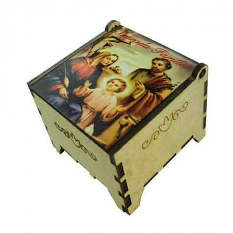 Porta Joia Madeira Sagrada Família