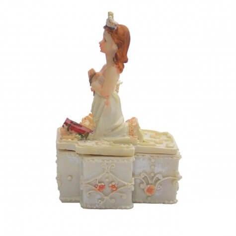 Porta Jóias de Resina - Eucaristia - Fem.