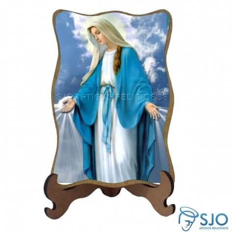Porta-Retrato Nossa Senhora das Graças - Modelo 3