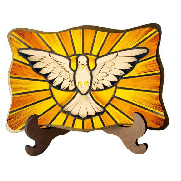 Porta-Retrato Divino Espírito Santo - Modelo 2