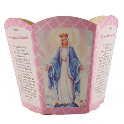 Protetor de Vela - Nossa Senhora das Graças