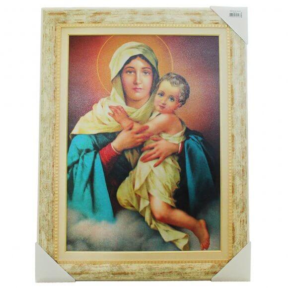 Quadro Religioso Mãe Rainha