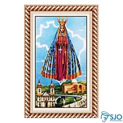 Quadro Religioso Nossa Senhora Aparecida - 70 x 50 cm - Mod. 4