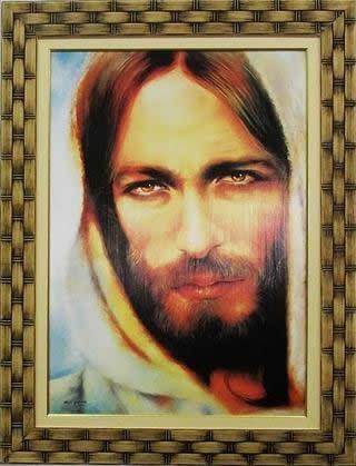 Quadro Religioso Jesus do Nazareno - 70 x 50 cm