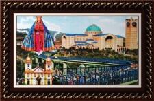 Quadro Religioso Nossa Senhora Aparecida - 70 x 50 cm - Mod. 2